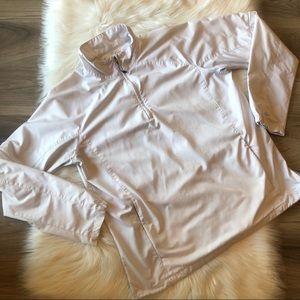 Nike Golf Pull Over Windbreaker Size Large White